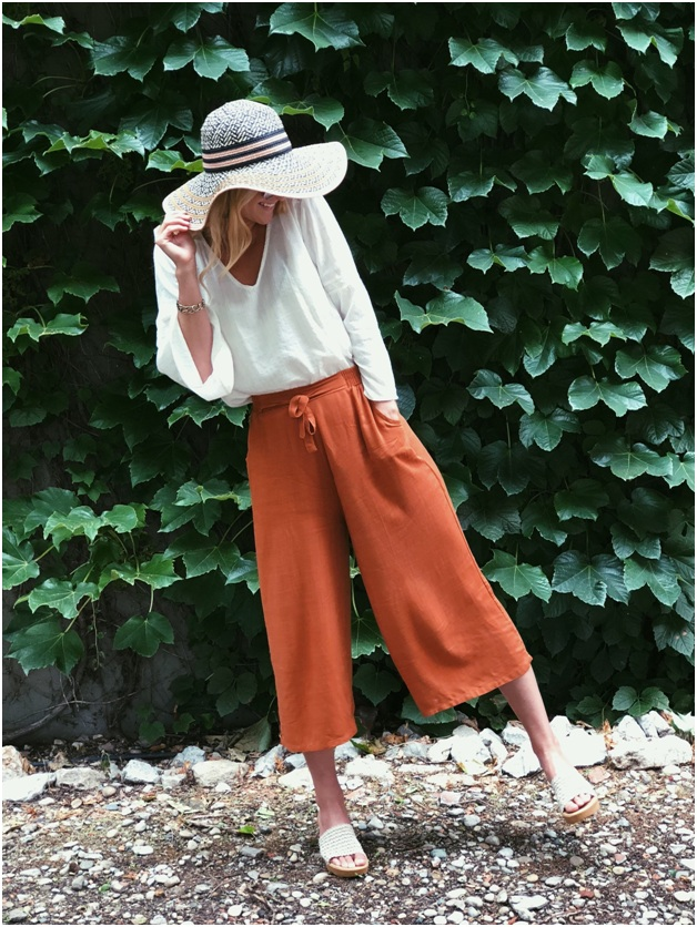 Casual Culottes Summer Look for Women