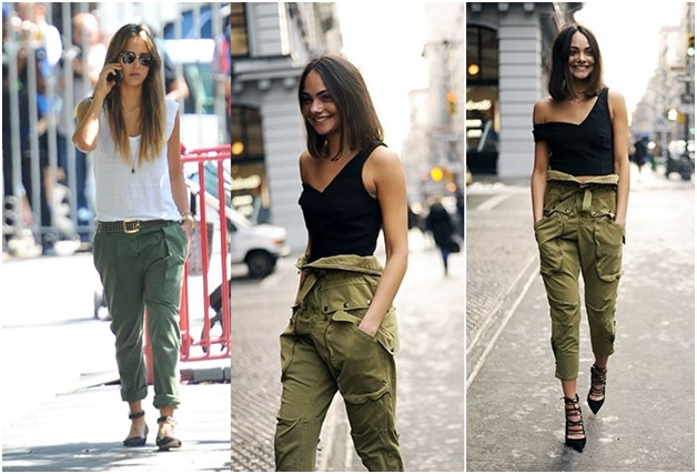 Casual Cargo Pant Look for summers