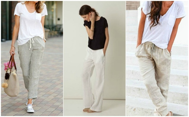 Summer trousers outfits