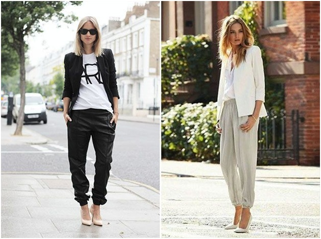 Casual summer trouser outfits